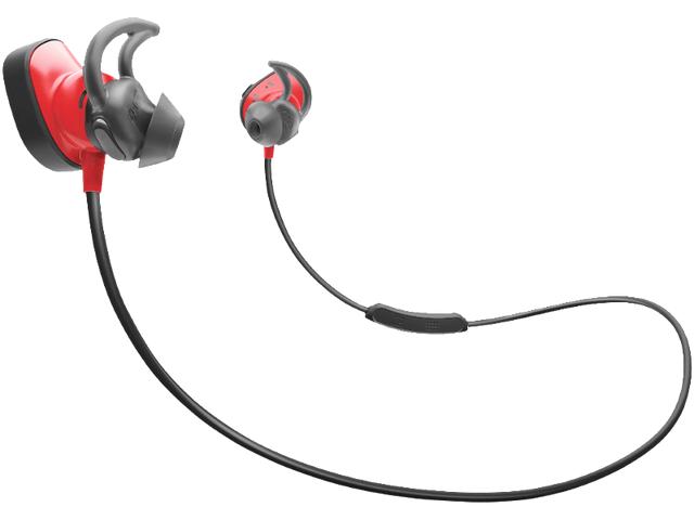 Bose SoundSport Pulse Wireless, In-ear Kopfhörer, NFC, Bluetooth, Rot