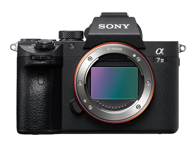 Sony Alpha 7 III Body (ILCE-7M3) schwarz